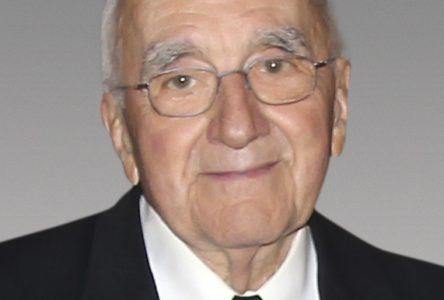 Il a joué de l'orgue à l'église Sainte-Famille durant 45 ans: hommage à Georges Signori