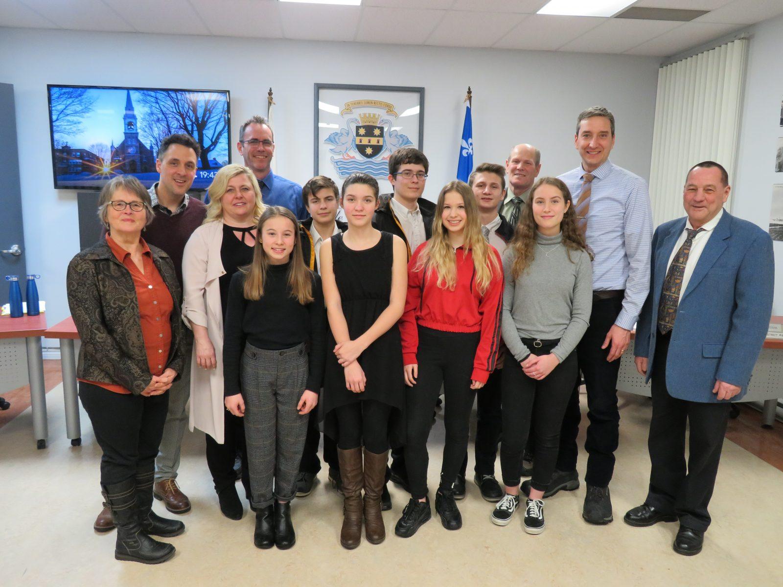 La Municipalité de Verchères honore ses jeunes athlètes locaux