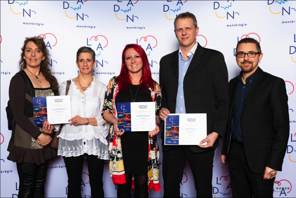 Grand événement entrepreneurial LADN Montérégie: trois entreprises parrainées par la MRC parmi les 10 finalistes!