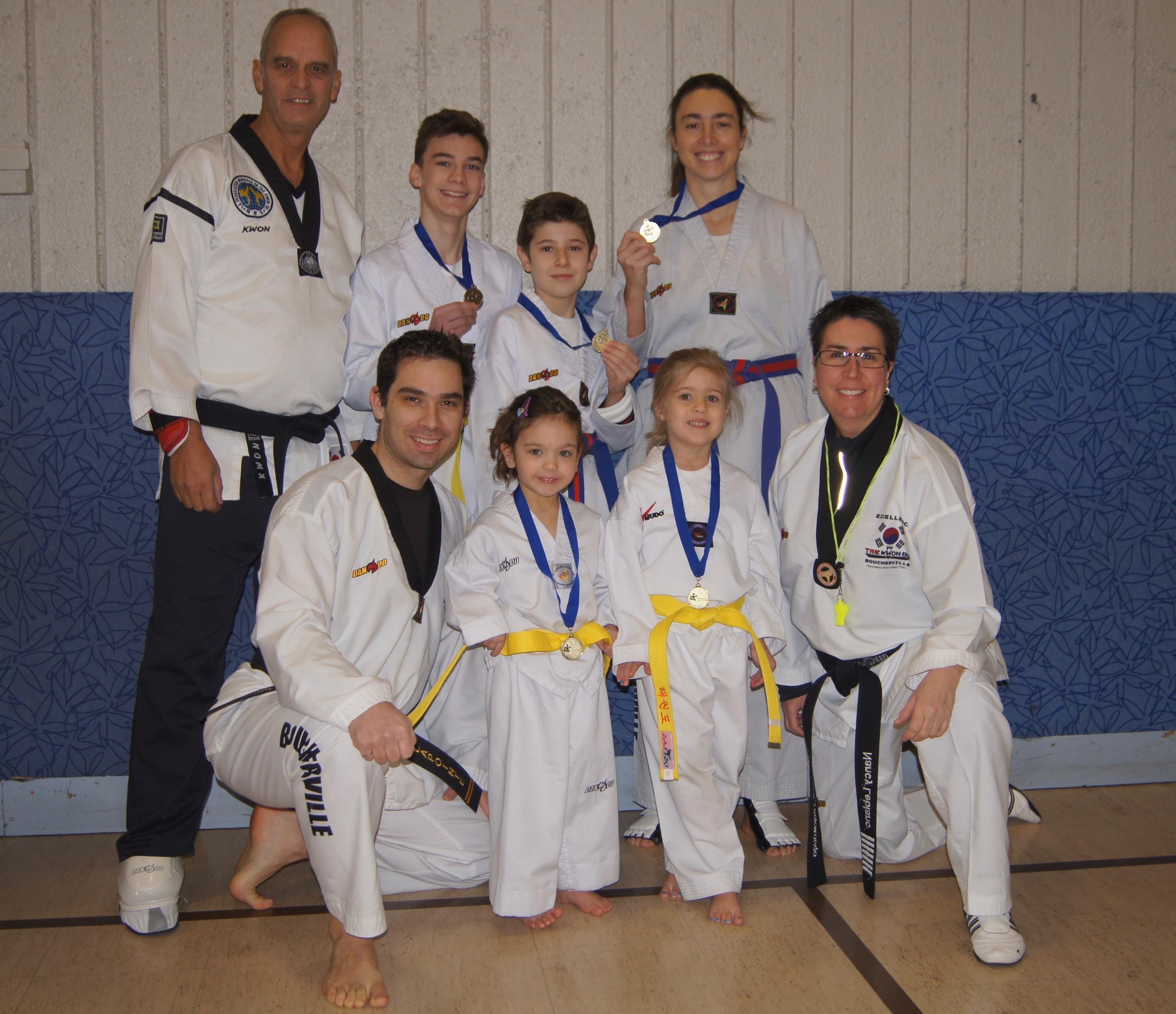 De belles réussites pour l'école Excellence taekwondo
