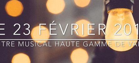 Tous unis pour un voeu – Spectacle de musique à Varennes le 23 février