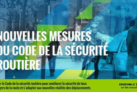 Soirée d'information sur les modifications au Code de la sécurité routière le 13 mars