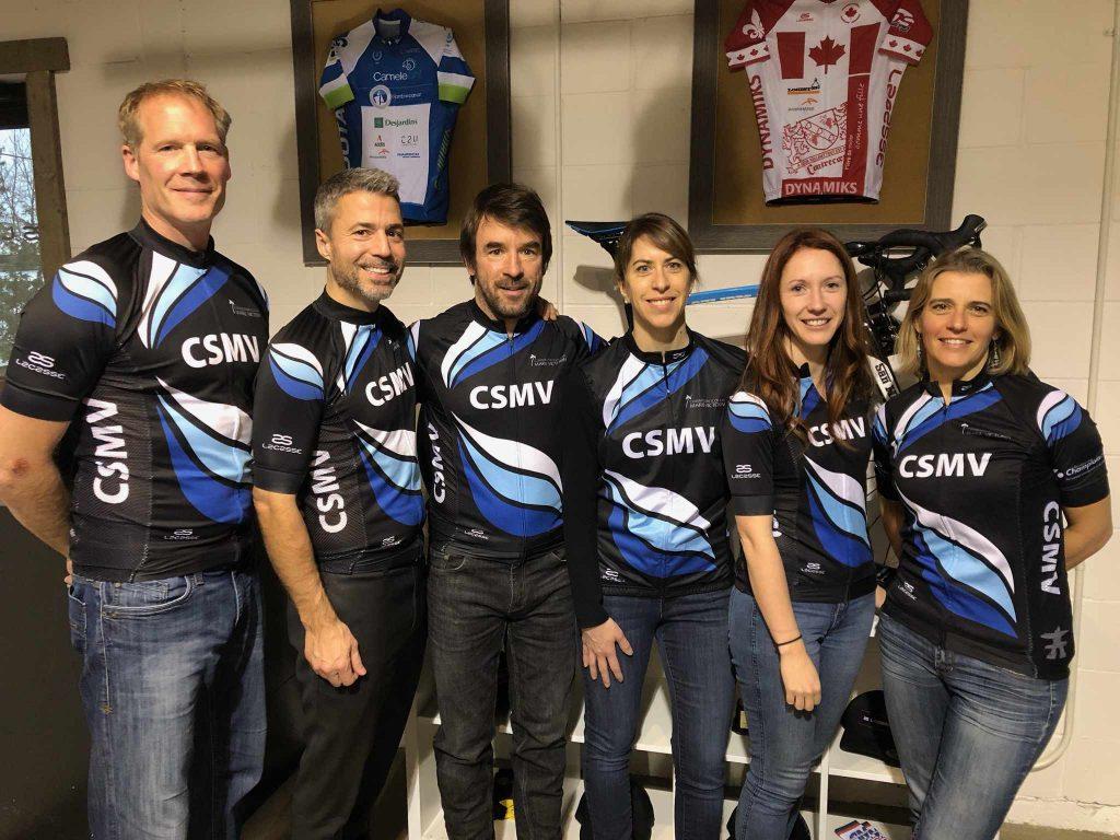 L'équipe CSMV 2019 du Grand Défi Pierre Lavoie se prépare!