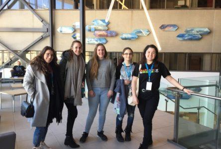Cinq étudiantes du Cégep de Sorel-Tracy participent à l'École d'hiver de l'Institut du Nouveau Monde