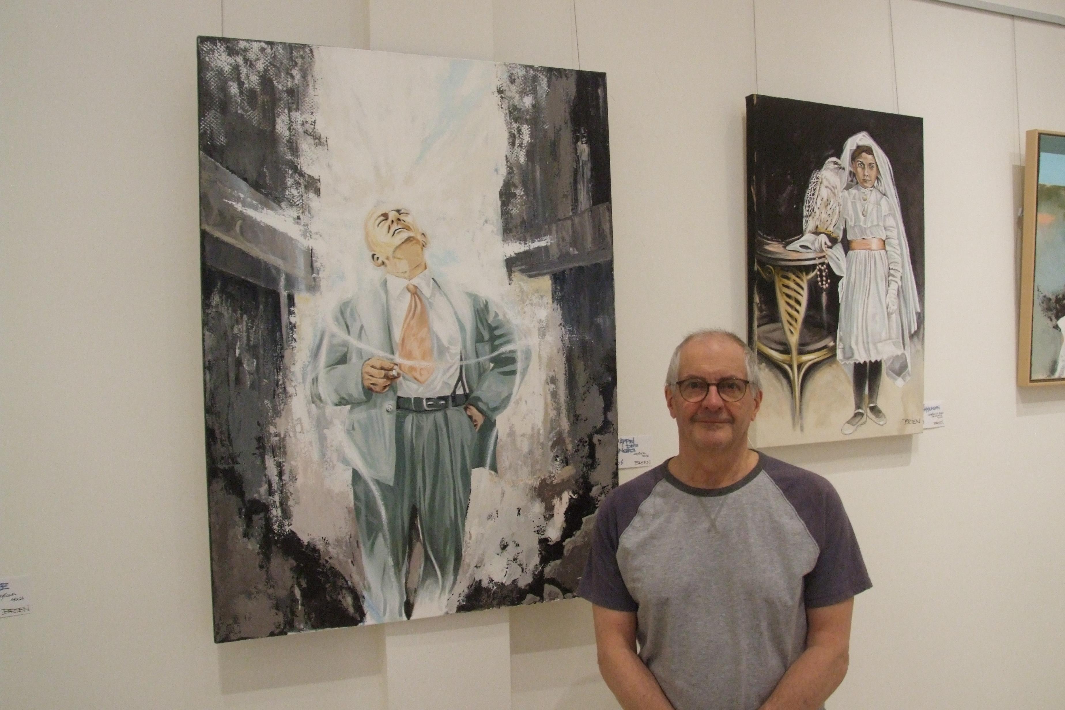 L'univers de l'artiste-peintre André Brien exposé en une trentaine de tableaux
