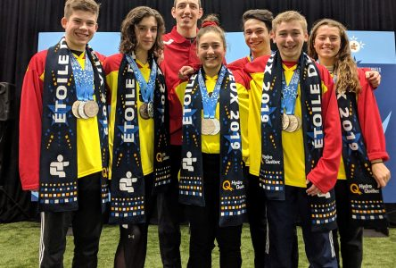 Une pluie de médailles pour les Dynamix à la Finale des Jeux du Québec