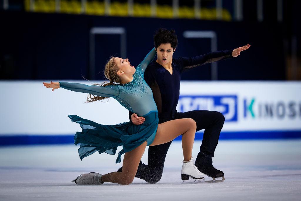 La Bouchervilloise Marjorie Lajoie et son partenaire Zachary Lagha sacrés champions du monde juniors