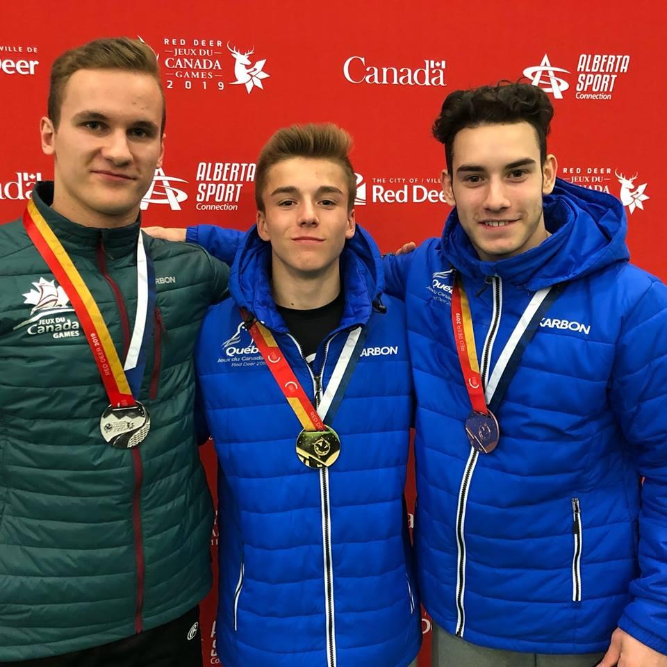 Jeux du Canada: Nathan Yvars grimpe sur le podium en gymnastique artistique