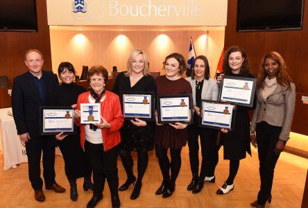 La Bouchervilloise Denise Guilbault reçoit le prix Florence Junca Adenot