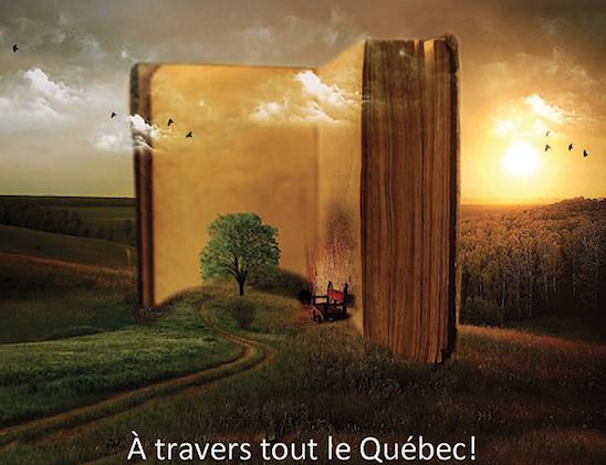 Une activité bien spéciale à Sainte-Julie dans le cadre de la 3e édition de l'événement À livres ouverts