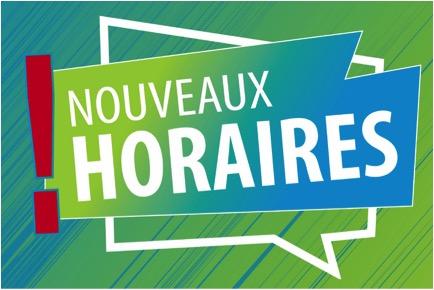 À partir du 1er avril: nouveaux horaires des services municipaux à Saint-Amable