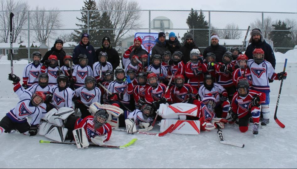 Félicitations à l'ensemble des équipes de hockey Novice 8 ans de Varennes