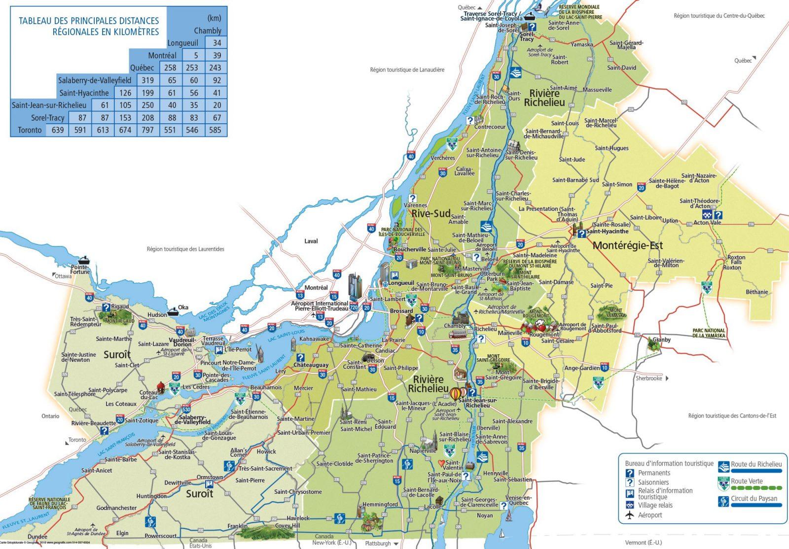 Québec prévoit des investissements routiers et maritimes de plus de 515 M$ en Montérégie en 2019-2021