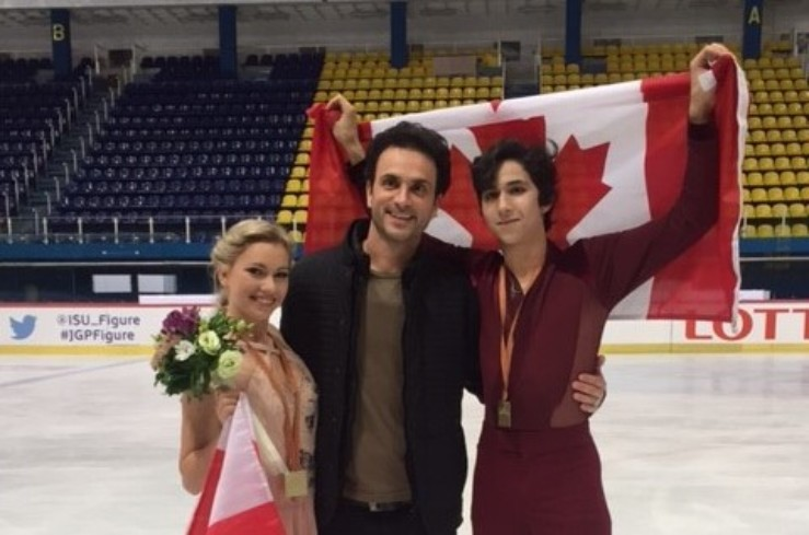 La Bouchervilloise Marjorie Lajoie et son partenaire Zachary Lagha sacrés champions du monde