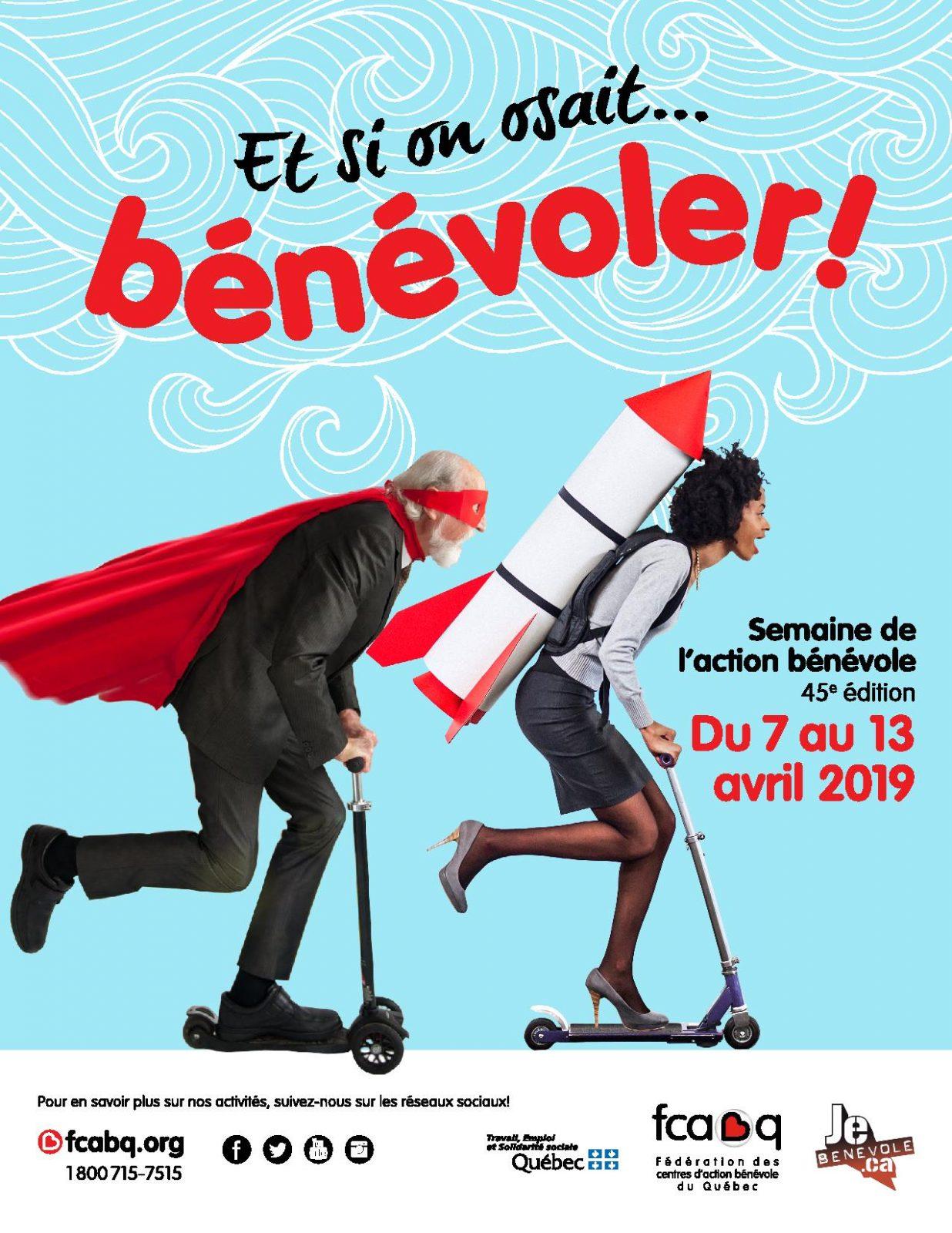 La Ville de Boucherville souligne l'apport des bénévoles au sein de sa communauté!