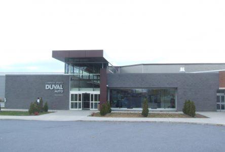 Aide financière de 1,6 M $ pour la mise à niveau du Complexe sportif Duval Auto
