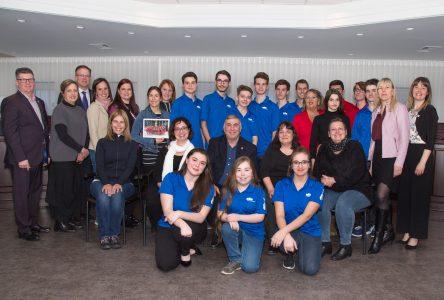 Des sportifs, des musiciens et une bénévole honorés par le conseil municipal de Sainte-Julie