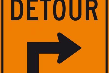 Fermetures de bretelles à l'échangeur des autoroutes 20/25/route 132 à Longueuil