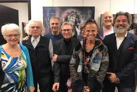 Le ministre du Patrimoine canadien rencontre les artistes d'ici à l'invitation du député Michel Picard