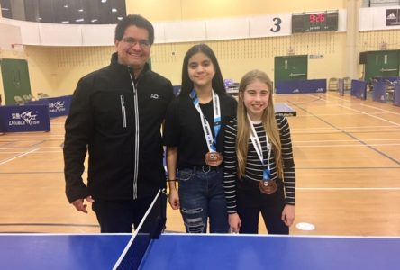Mayra Ruz et Naika Leavy s'illustrent aux Championnats juniors du Québec de tennis de table