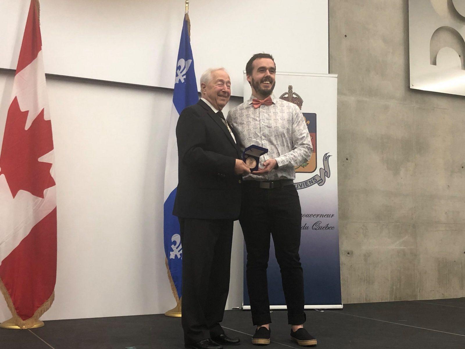 La Médaille du Lieutenant-gouverneur remise à 14 citoyens de Sainte-Julie