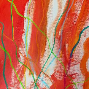 La Galerie Lez'artsprésente l'exposition Nos gestes colorés réalisée par des élèves de l'école Louis- Hippolyte-Lafontaine