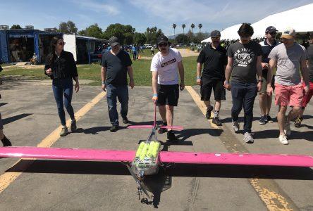 L'équipe Avion-Cargo de l'École nationale d'aérotechnique remporte une importante 6e place en Californie