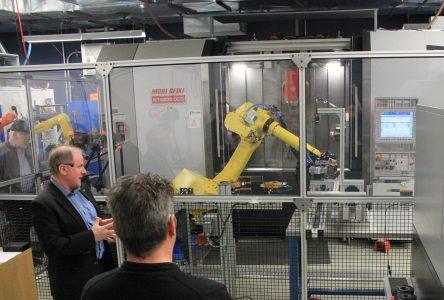 Plus de 90 personnes découvrent la robotique au CTA