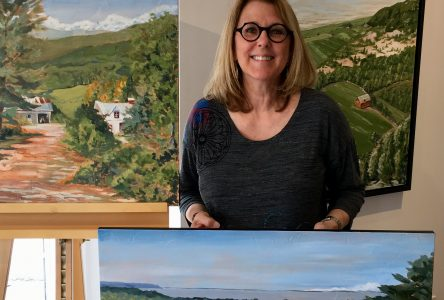 La peintre Céline Laliberté rend hommage à la nature