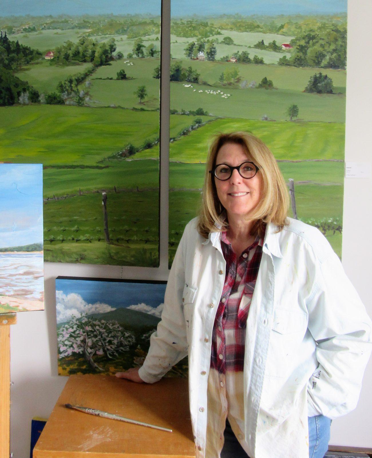 Nouvelle exposition de deux artistes peintres à la galerie Au Cadre du Village