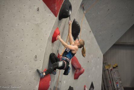 Championnats nationaux d'escalade : les grimpeurs Sophie et Hugo Valence remportent quatre médailles