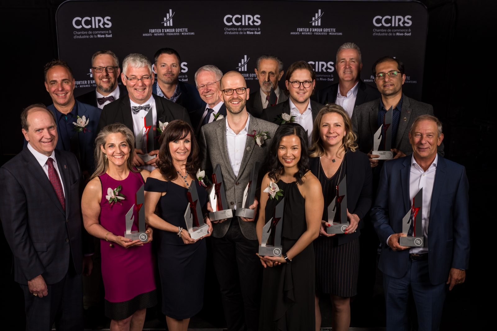 Le groupe Sportscène couronnée entreprise de l'année au concours des prix Excellence de la CCIRS