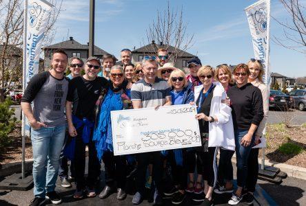 Marche pour la Maison de soins palliatifs Source Bleue : une somme record de 310 000 $  amassée