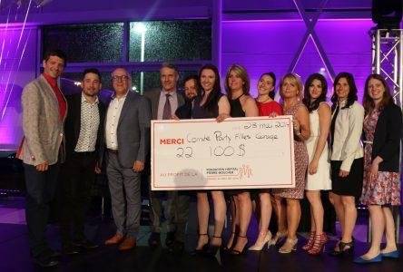 L'événement Party de filles sous les tropiques permet d'amasser plus de 22 000 $ pour l'Hôpital Pierre-Boucher