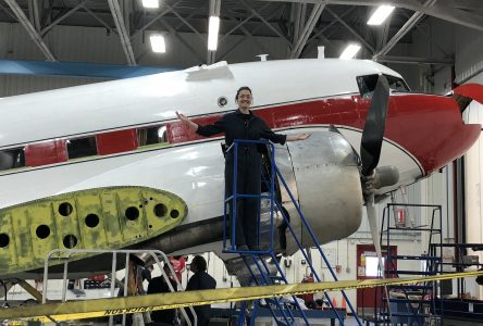 L'École nationale d'aérotechnique collabore à restaurer un avionde la Deuxième Guerre mondiale