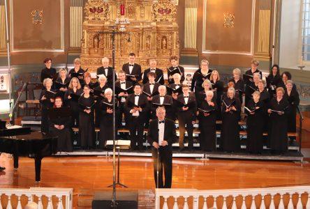 Un concert de l'Ensemble vocal Polymnie réussi!