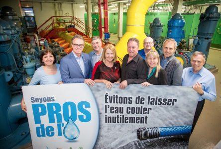 La campagne Soyons pros de l'eau se poursuit