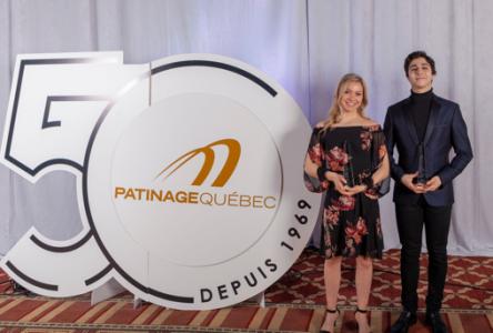 Les patineurs Marjorie Lajoie et Zachary Lagha remportent le Trophée Josée Chouinard et le Prix Toller Cranston