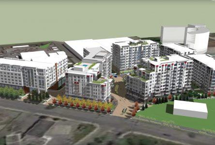 Le centre commercial Aux portes de la cité sera démoli pour construire un complexe résidentiel
