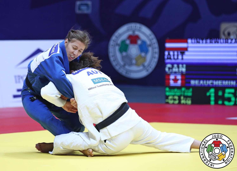 Catherine Beauchemin-Pinard est en route pour les Jeux olympiques