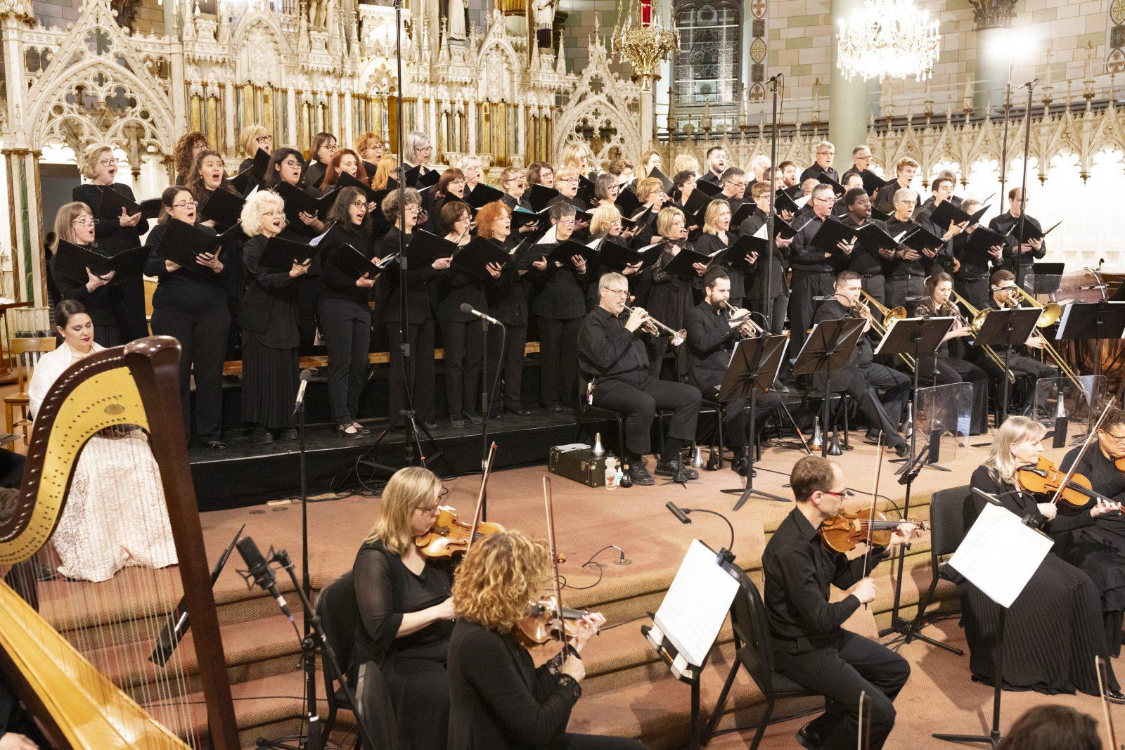 Un concert majestueux pour les 100 ans de la Chorale de Saint-Lambert