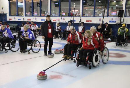 Boucherville a accueilli le championnat canadien de curling en fauteuil roulant