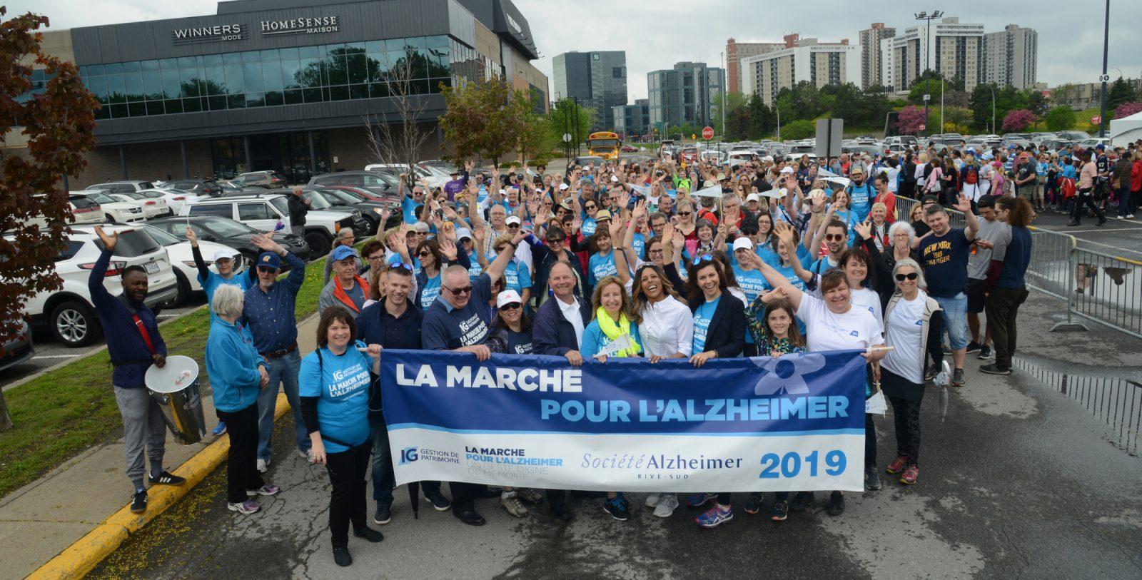 La 13e Marche pour l'Alzheimer attire près de 500 participants