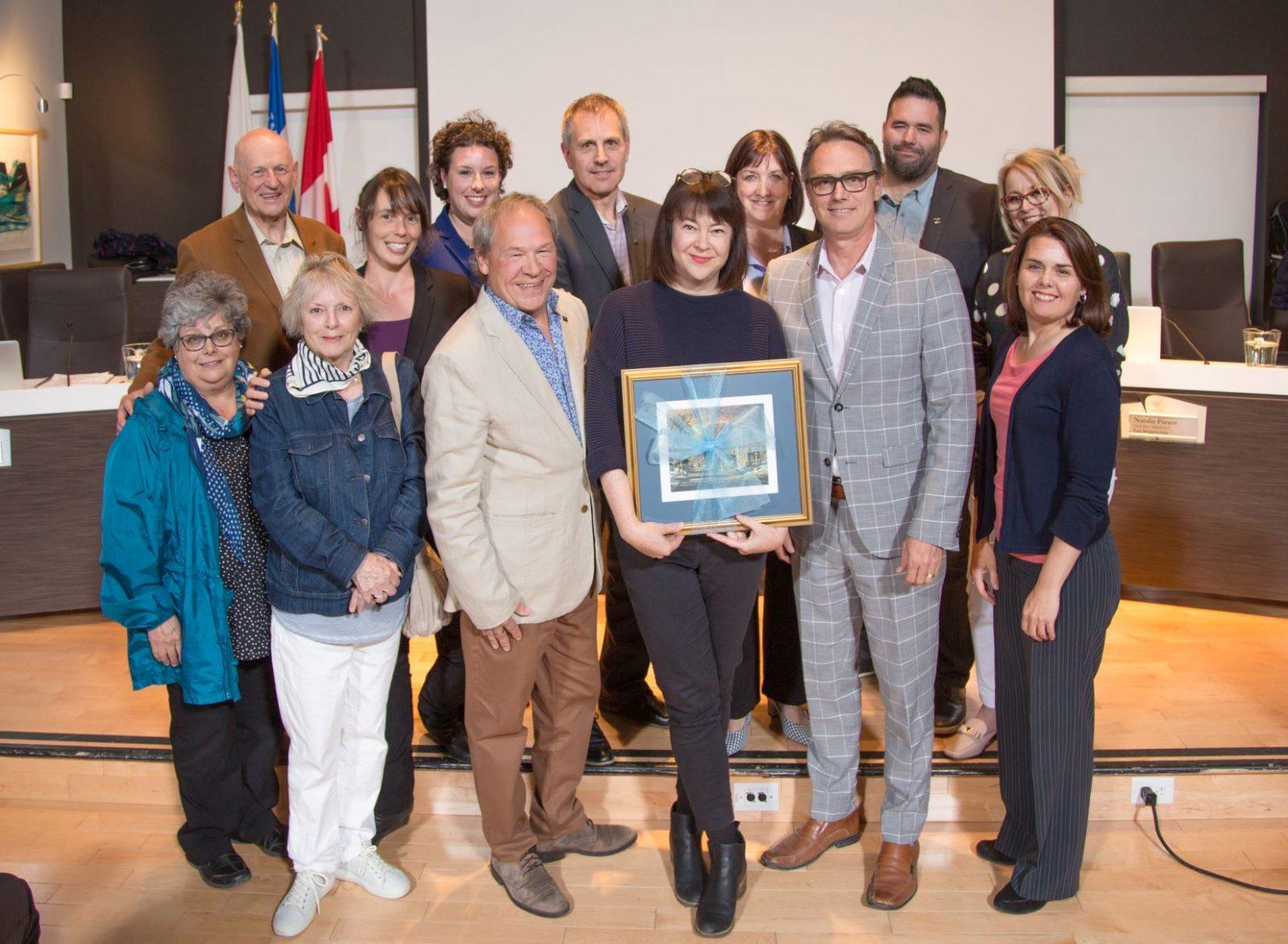 Le conseil municipal de Varennes rend hommage à Nadine Robert