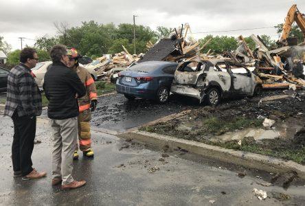Varennes lance une campagne de sociofinancement pour aider les familles affectées par l'incendie de la rue de Normandie