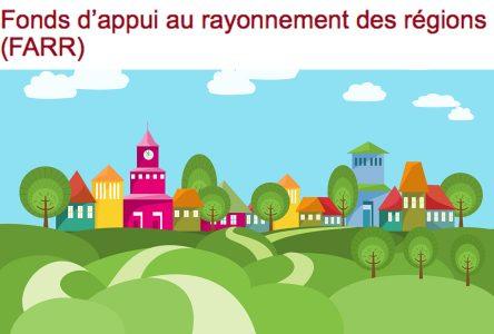 Fonds d'appui au rayonnement des régions: la Montérégie prête à recevoir de nouveaux projets