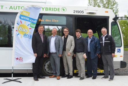 La saison du bus des Îles reprendra du service à compter du 22 juin