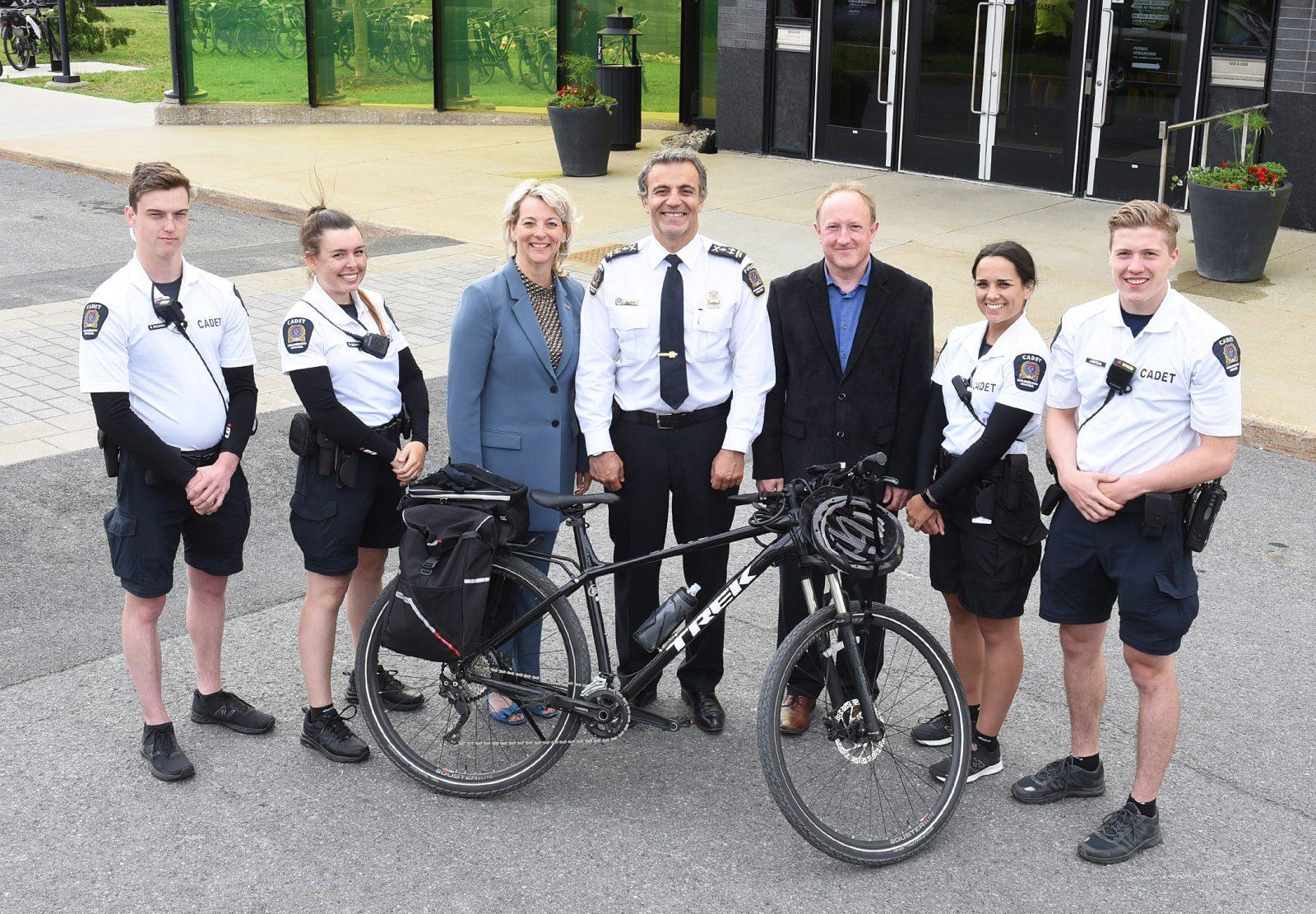 Les cadets de l'agglomération de Longueuil enfourchent leur vélo pour une 6e année
