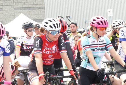 Cyclisme : Coralie Lévesque toujours en tête