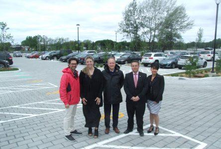 Le deuxième stationnement incitatif De Montarville prêt à accueillir les usagers à Boucherville
